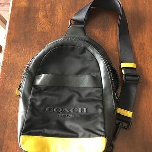 Men's coach sling pack